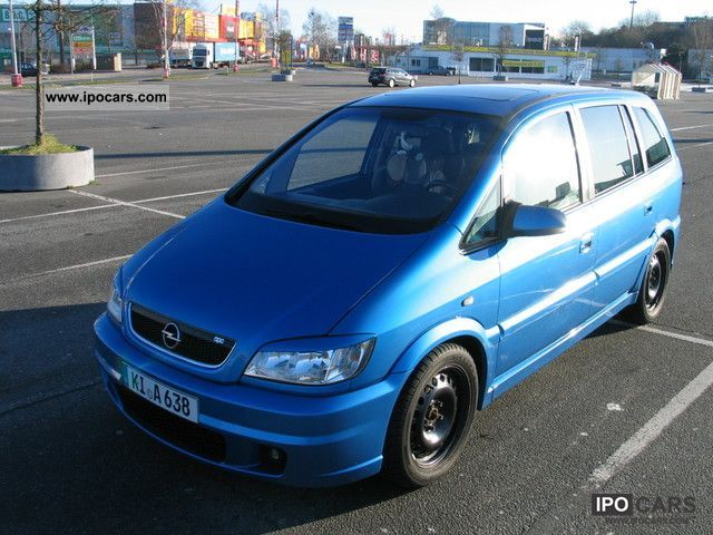 2002 opel zafira opc 2 0 car photo and specs. Black Bedroom Furniture Sets. Home Design Ideas