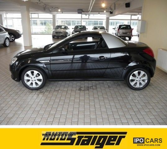 2008 opel tigra twintop edition 1 4 car photo and specs. Black Bedroom Furniture Sets. Home Design Ideas