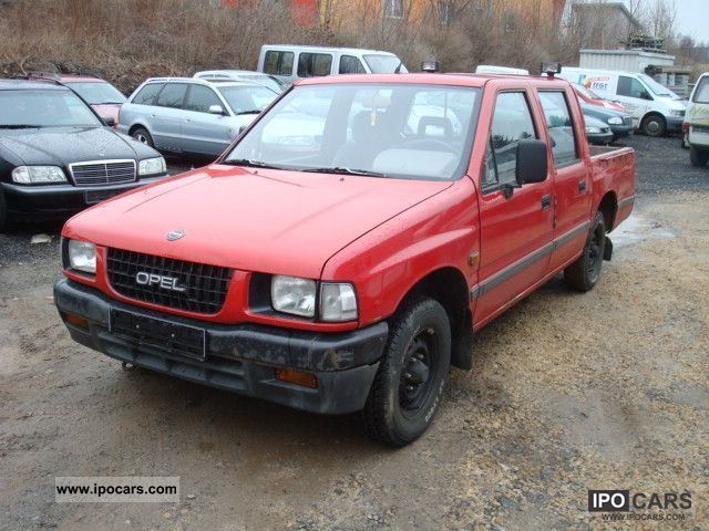 1993 Opel  Campo Pick Up 4x2 Off-road Vehicle/Pickup Truck Used vehicle photo