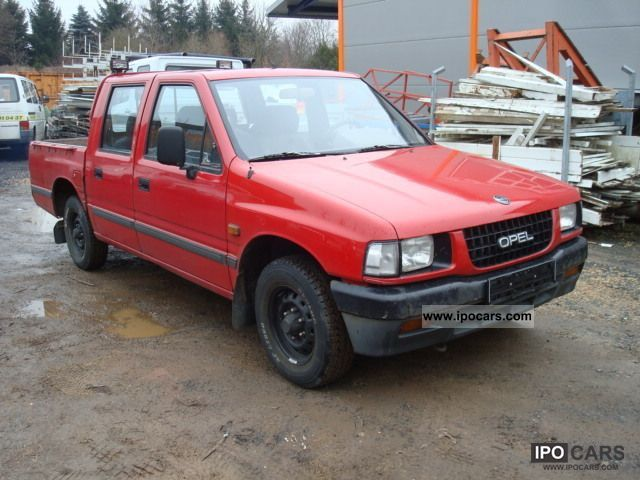 1993 opel campo pick up 4x2 car photo and specs. Black Bedroom Furniture Sets. Home Design Ideas