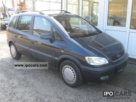 2002 opel zafira 2 2 selection line 2013 top condition car photo and specs. Black Bedroom Furniture Sets. Home Design Ideas