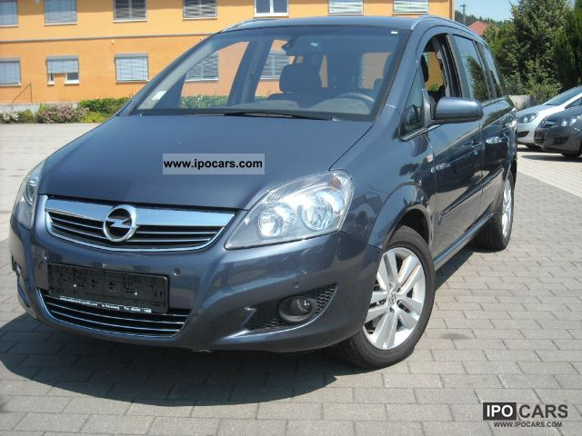 2010 opel zafira 1 7 cdti sport pdc klimatronic car photo and specs. Black Bedroom Furniture Sets. Home Design Ideas