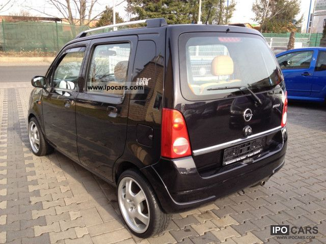 2002 opel agila 1 2 16v njoy car photo and specs. Black Bedroom Furniture Sets. Home Design Ideas