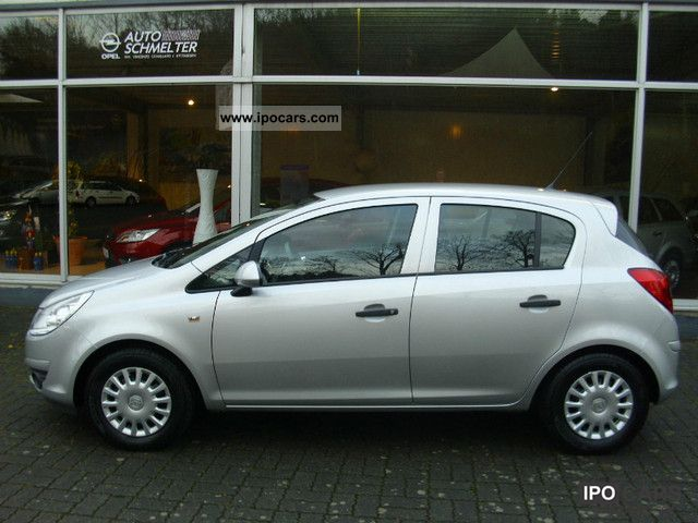 2009 Opel  1.0 Corsa 5-door air power ZV ABS ESP CD Small Car Used vehicle photo