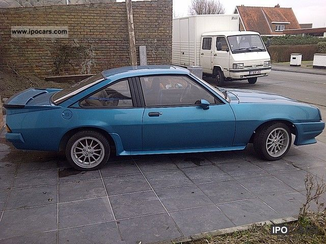 1987 opel manta b gte sports car/coupe used vehicle photo