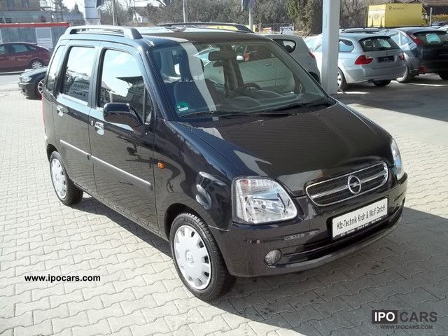 2004 Opel  Agila 1.2 16V 71700 km * - * 8-times pruinose Small Car Used vehicle photo