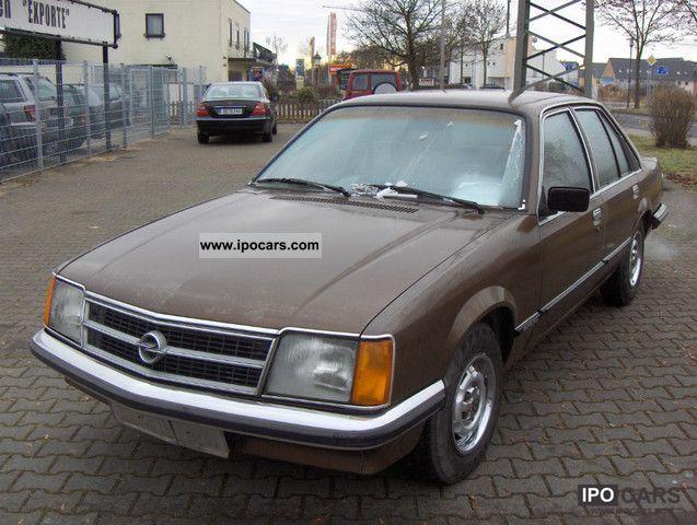 Opel  Sedan S-Berlin-4 doors, \ 1979 Vintage, Classic and Old Cars photo