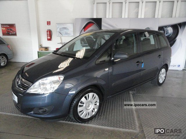 2009 opel selection zafira 1 7 cdti 110 years car photo and specs. Black Bedroom Furniture Sets. Home Design Ideas