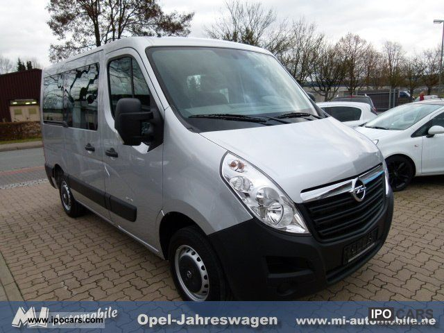 2011 opel movano 2 3 cdti b 9 seater combi 5 air. Black Bedroom Furniture Sets. Home Design Ideas