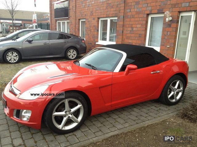 2007 opel gt 2 0 turbo convertible 1 hand air conditioning car photo and specs. Black Bedroom Furniture Sets. Home Design Ideas