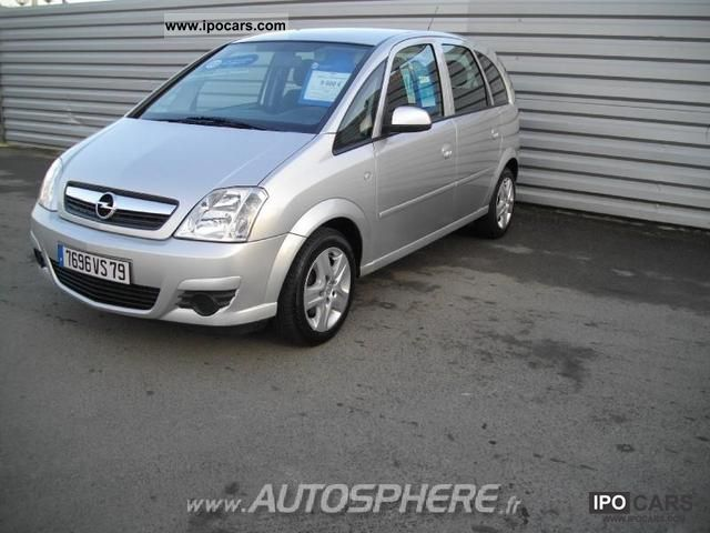 2008 opel meriva 1 3 cdti enjoy fap car photo and specs. Black Bedroom Furniture Sets. Home Design Ideas