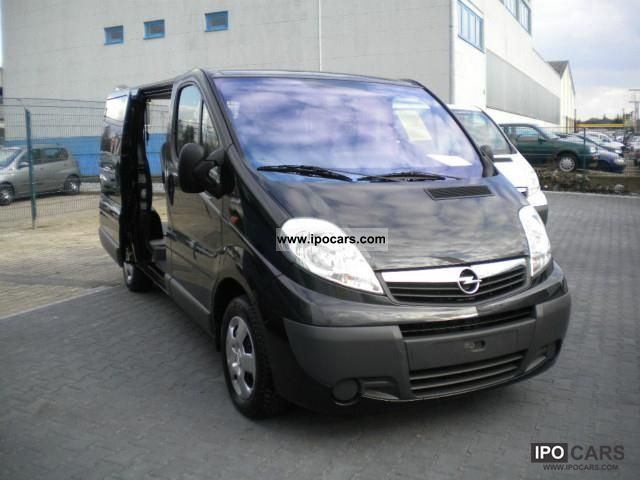 2009 opel vivaro 2 0 cdti 5 seater combi l1h1 with navi. Black Bedroom Furniture Sets. Home Design Ideas