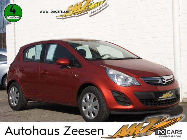 2012 Opel  Corsa 1.2 ecoFLEX Edition AIR SEAT HEATER Small Car Pre-Registration photo