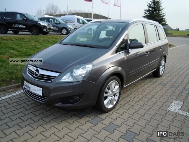 2009 opel zafira 1 8 innovation 110 years car photo and specs. Black Bedroom Furniture Sets. Home Design Ideas