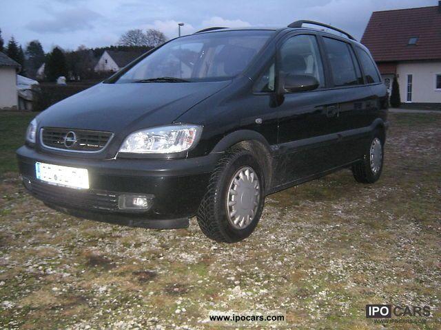 2001 Opel  7 seater air-AHK dec. 4x airbag Van / Minibus Used vehicle photo