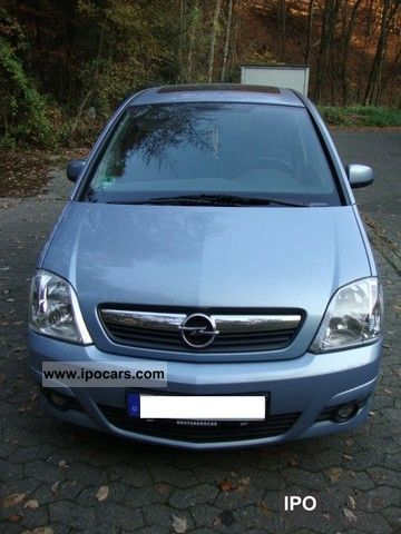 2008 opel meriva 1 4 car photo and specs. Black Bedroom Furniture Sets. Home Design Ideas