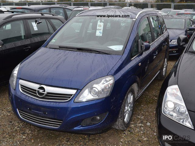 2009 opel zafira 1 7 cdti innovation 110 years car photo and specs. Black Bedroom Furniture Sets. Home Design Ideas