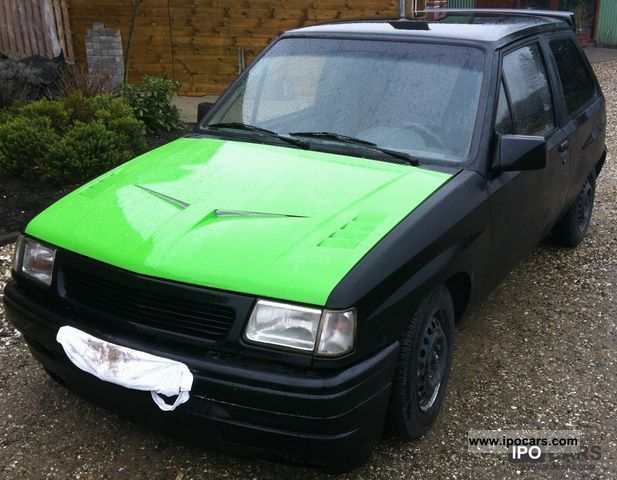 1990 opel corsa swing - car photo and specs