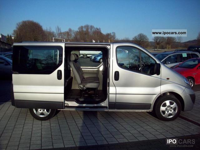 2011 Opel Vivaro L1h1 2 7 T 9 Seater Dpf Car Photo And Specs