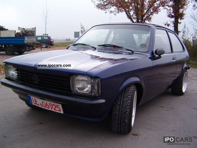 Opel  Kadett C City 2.3 16V single throttle DB H - Perm.! 1979 Vintage, Classic and Old Cars photo