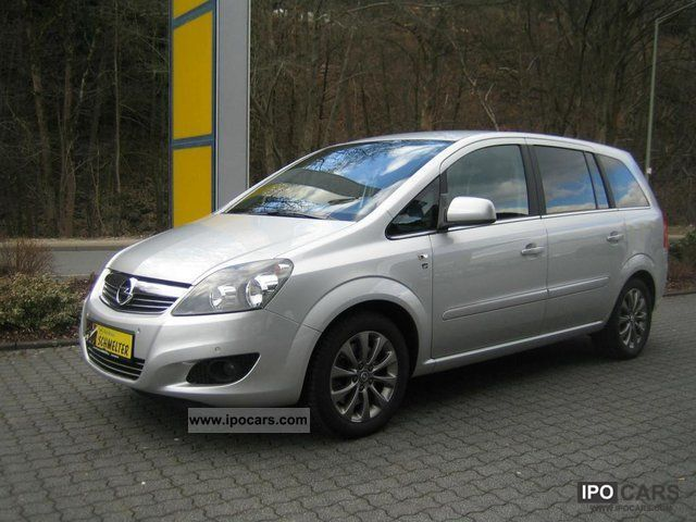 2010 opel zafira 1 7 cdti ecoflex dpf edition 111 years car photo and specs. Black Bedroom Furniture Sets. Home Design Ideas