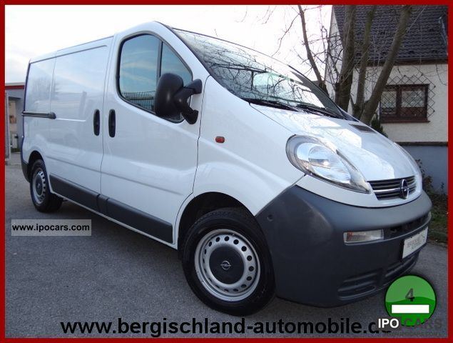 2005 Opel  3-seater Vivaro 1.9CDTI, shelving, heater Other Used vehicle photo