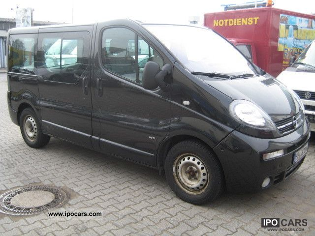 2005 opel vivaro l1h1 2 5 cdti life car photo and specs. Black Bedroom Furniture Sets. Home Design Ideas