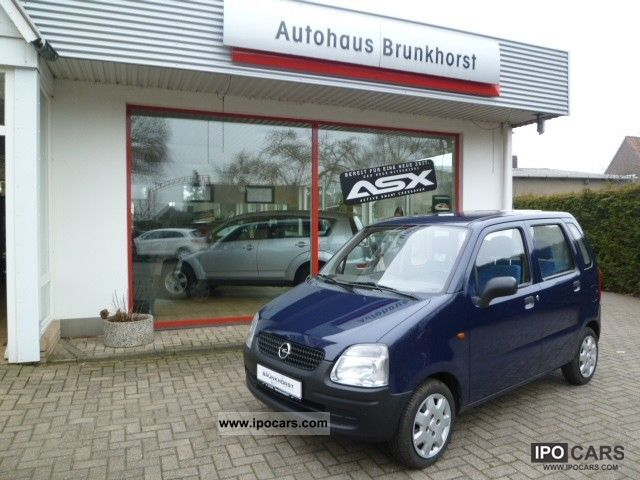2002 Opel  Agila 1.0 8-frosted TUV New! Small Car Used vehicle photo