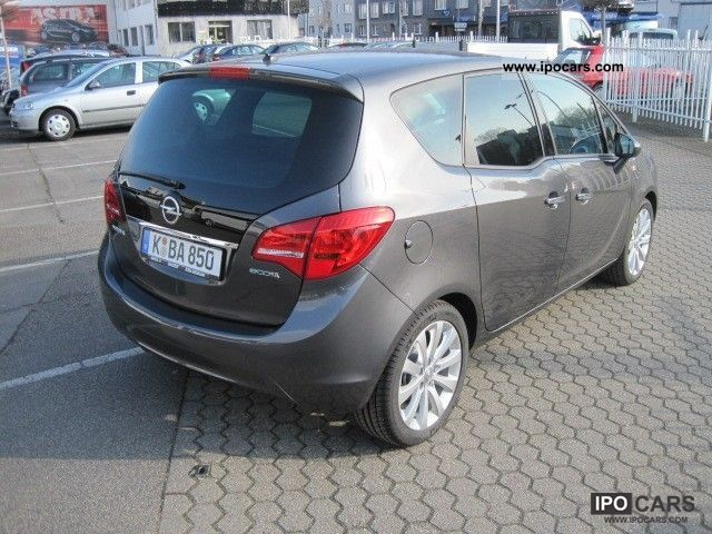 2012 opel meriva 1 4 ecoflex innovation car photo and specs. Black Bedroom Furniture Sets. Home Design Ideas