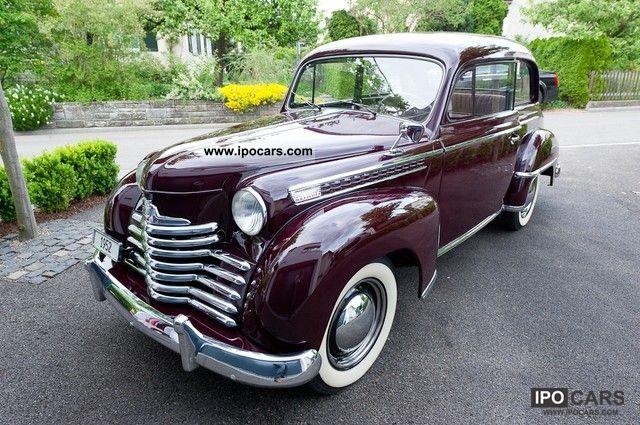 1952 Opel  Olympia 01.05 Limousine Classic Vehicle photo