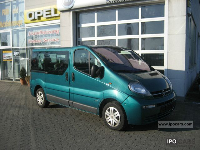 2006 opel vivaro vat reclaimable car photo and specs. Black Bedroom Furniture Sets. Home Design Ideas