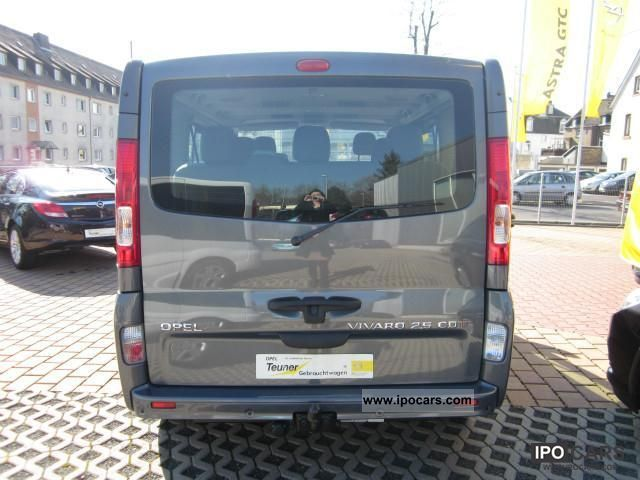 2010 opel vivaro 2 5 cdti l1h1 tecshift easytronic tour. Black Bedroom Furniture Sets. Home Design Ideas