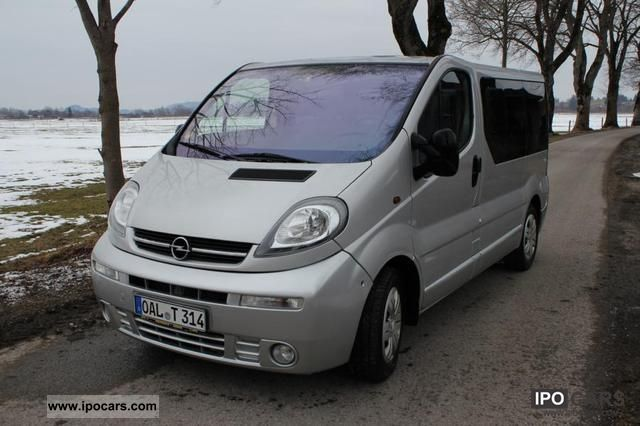 2003 opel vivaro 2 5 cdti life westfalia trailer hitch lots of accessories car photo and specs. Black Bedroom Furniture Sets. Home Design Ideas