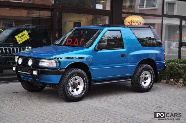 1996 opel frontera sport ahk good tires front bar car photo and specs. Black Bedroom Furniture Sets. Home Design Ideas