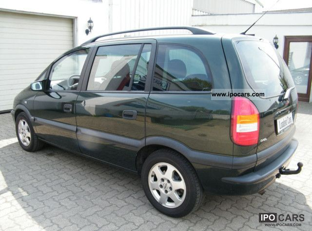 2000 Opel  2.0 DTI Edition 2000 D-particle filter / 7 seats Van / Minibus Used vehicle photo