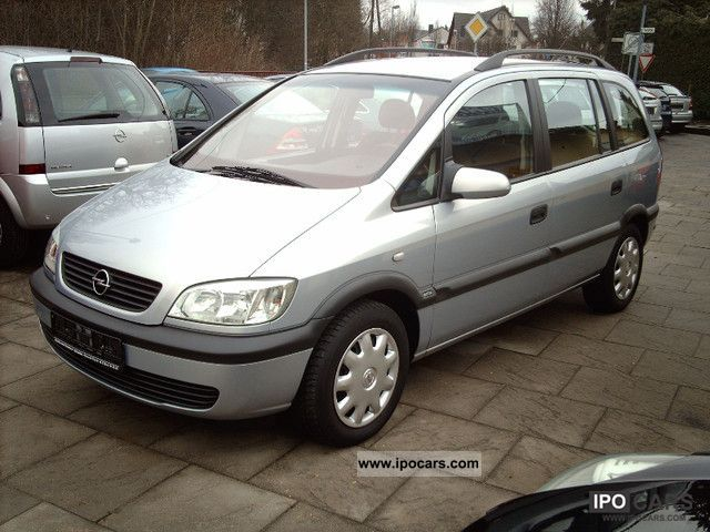 2002 opel zafira 1 6 selection free car photo and specs. Black Bedroom Furniture Sets. Home Design Ideas