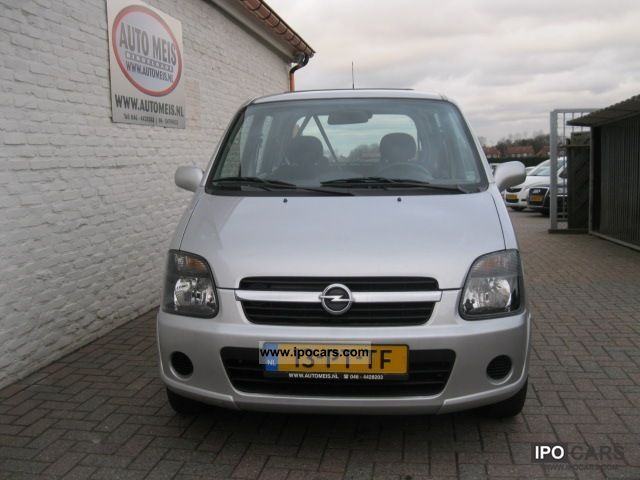 2004 opel agila 1 2 car photo and specs. Black Bedroom Furniture Sets. Home Design Ideas