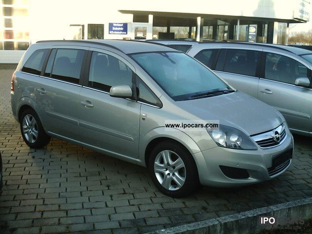 2010 opel zafira 1 7 cdti ecoflex edition 111 years car photo and specs. Black Bedroom Furniture Sets. Home Design Ideas