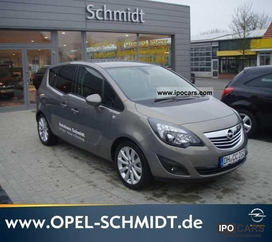 2012 Opel  1.4 Turbo Meriva ecoFLEX innovation Van / Minibus Demonstration Vehicle photo