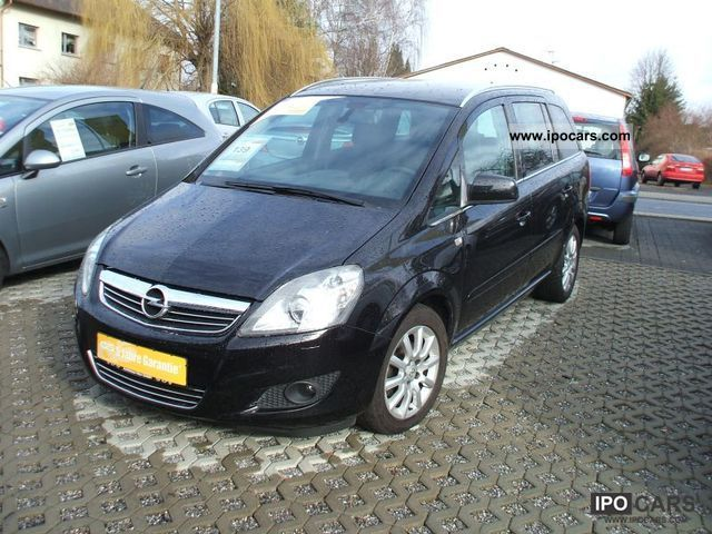 2010 opel zafira b 1 8 car photo and specs. Black Bedroom Furniture Sets. Home Design Ideas
