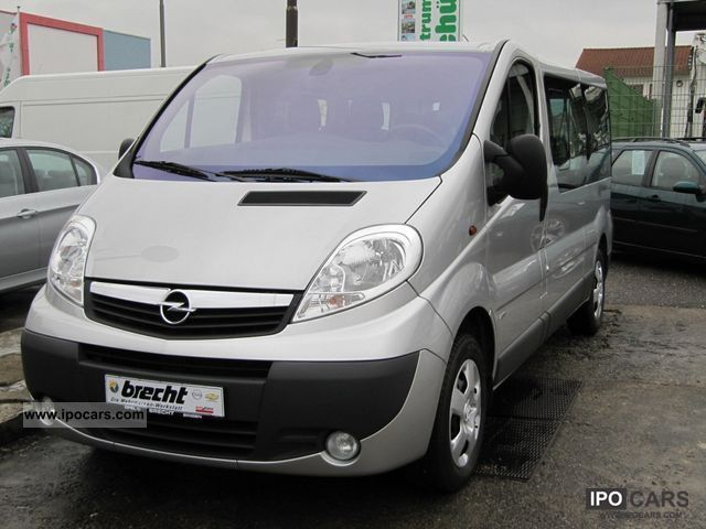 2011 opel vivaro 2 0 cdti l2h1 car photo and specs. Black Bedroom Furniture Sets. Home Design Ideas