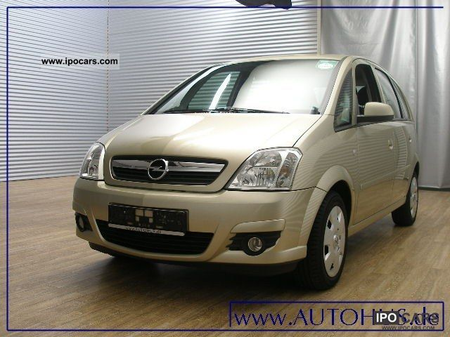 2008 opel meriva 1 7 cdti cruise towbar car photo and specs. Black Bedroom Furniture Sets. Home Design Ideas