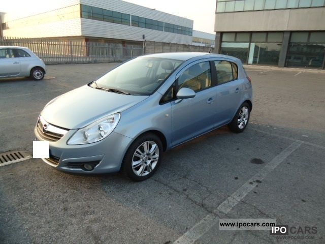 2009 opel corsa 1 7 cdti 125cv 5p cosmo car photo and specs. Black Bedroom Furniture Sets. Home Design Ideas