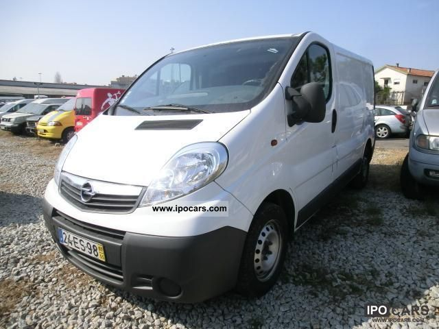 2007 opel vivaro 2 0 cdti air car photo and specs. Black Bedroom Furniture Sets. Home Design Ideas