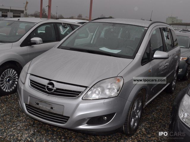 2009 opel zafira 1 7 cdti edition car photo and specs. Black Bedroom Furniture Sets. Home Design Ideas