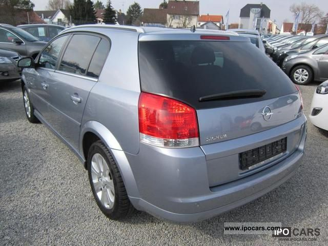 2008 opel signum 2 2 direct edition plus automatic pdc car photo and specs. Black Bedroom Furniture Sets. Home Design Ideas