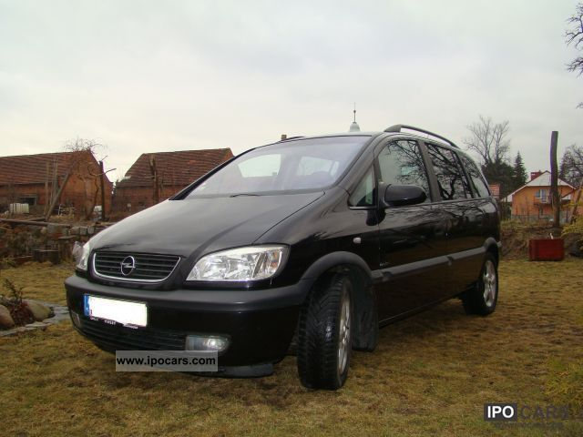 2002 Opel  Zafira Estate Car Used vehicle photo
