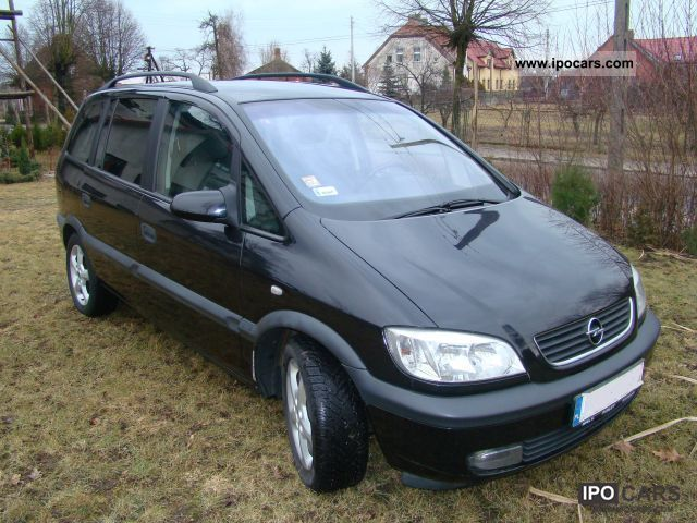 2002 opel zafira car photo and specs. Black Bedroom Furniture Sets. Home Design Ideas