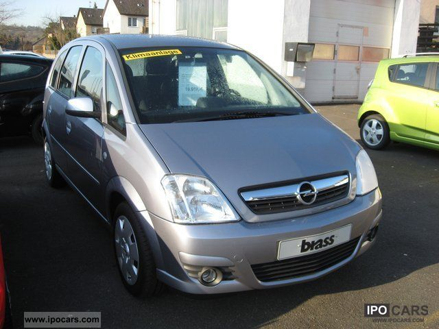 2008 opel meriva 1 6 16v catch me climate cruise control sitzhzg car photo and specs. Black Bedroom Furniture Sets. Home Design Ideas