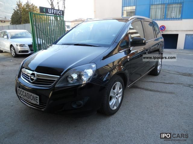 2010 opel zafira zafira 110cv edition prezzo car photo and specs. Black Bedroom Furniture Sets. Home Design Ideas